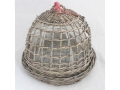 Rattan basket cake - grey